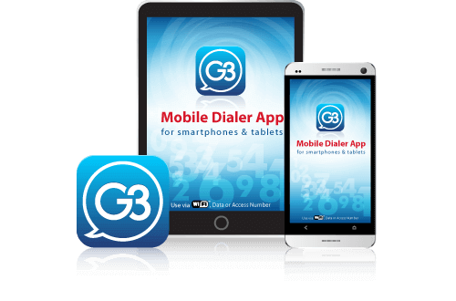 Download the G3 app your Android devices